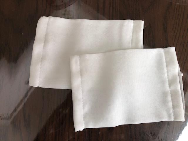 シルクマスク(大) 絹ガーゼ使用