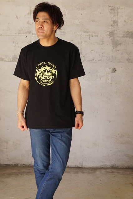 kumejima shirts オリジナル Tシャツ 9B
