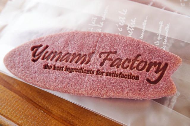YUNAMI FACTORYオリジナル 紅芋クッキー 5枚入り