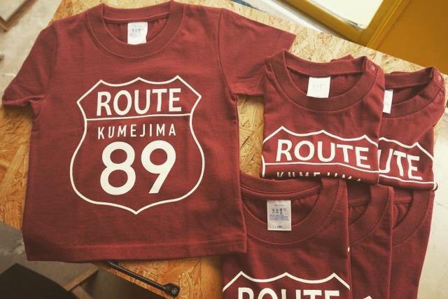 期間限定販売! kumejima shirts オリジナル Tシャツ 14R