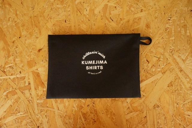 『kumejima shirts オリジナルポーチ』 デザイン BK- 14