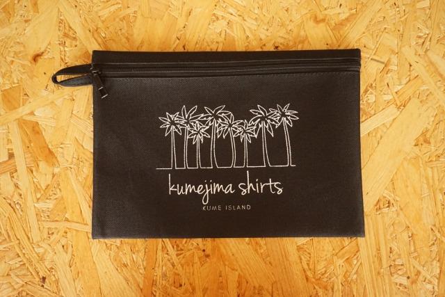 『kumejima shirts オリジナルポーチ』 デザイン BK- 15
