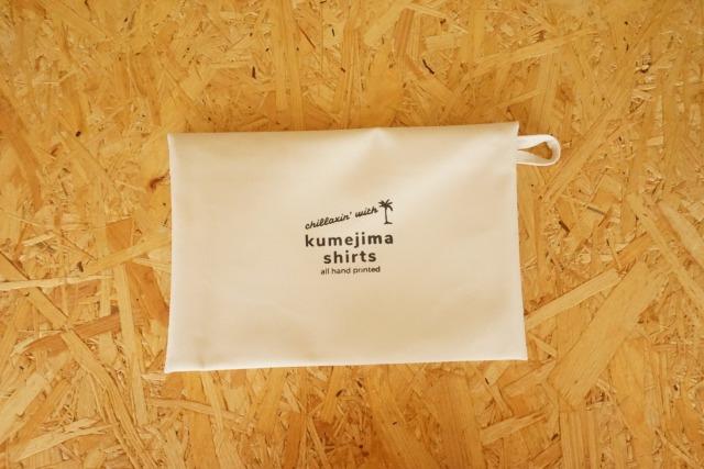 『kumejima shirts オリジナルポーチ』 デザイン W-12
