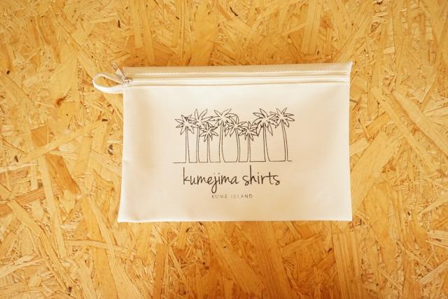 『kumejima shirts オリジナルポーチ』 デザイン W-15
