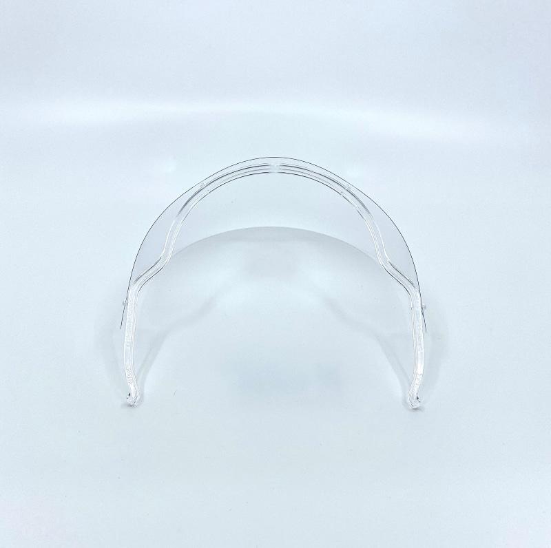 ユノス 透明マウスシールド Mサイズ 4枚セット