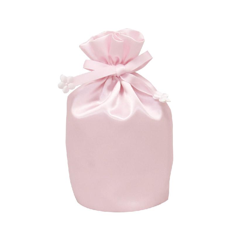 お遺骨袋 サテン 2.5寸 ピンク