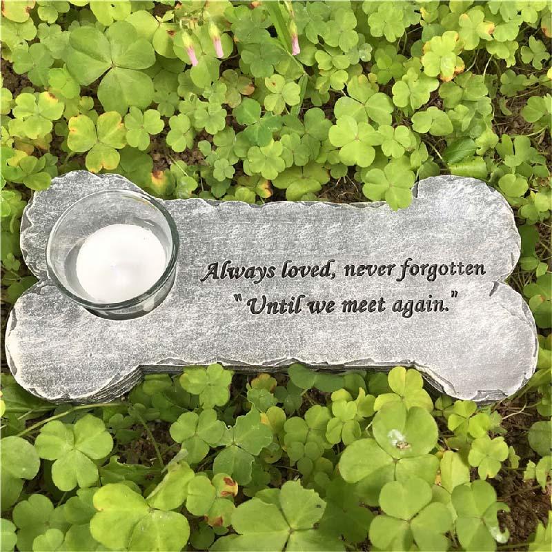メモリアル記念石 ボーン