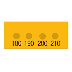 真空用サーモラベル VL-180 (4点式・180~210 ℃)