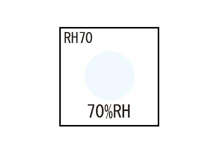 湿度インジケータ RH90 (1点式・変色湿度90%)