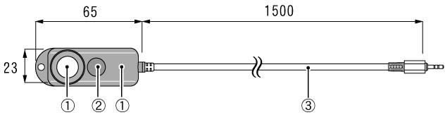 おんどとり オプション 照度・紫外線センサ ISA-3151