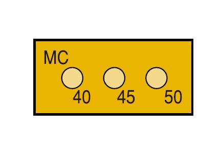 サーモカラーセンサー 3MC135 (3点式・135~145℃)