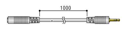 おんどとり オプション センサ延長ケーブル TR-5C10