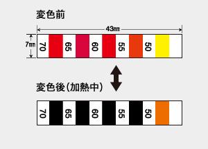 サーモシート C (可逆・5点式・50-70℃)
