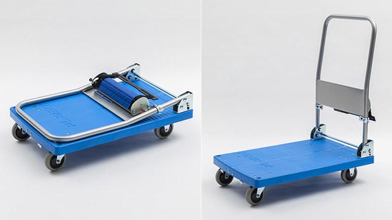 ラクラク台車 raku150-H(150kg・ハンドブレーキ付き)
