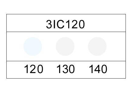 サーモカラーセンサー 3IC100 (3点式・100-120℃)