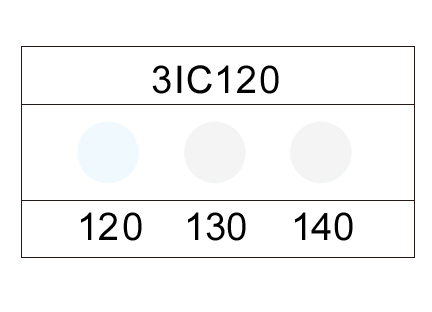 サーモカラーセンサー 3IC220 (3点式・220-240℃)