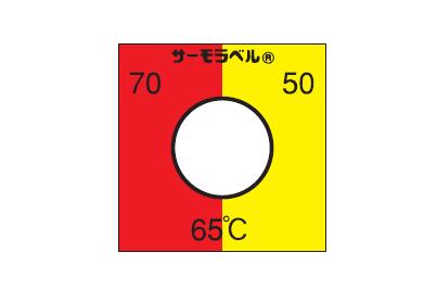 組合せサーモラベル TB-90(可逆・不可逆・3点式・90℃)
