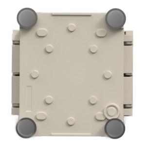 G-MEN 小型防塵・防水ケース(底面足付/蓋:本体色)
