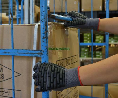 ニトリル拳護(プロテクト・すべり止め一体型)保護手袋