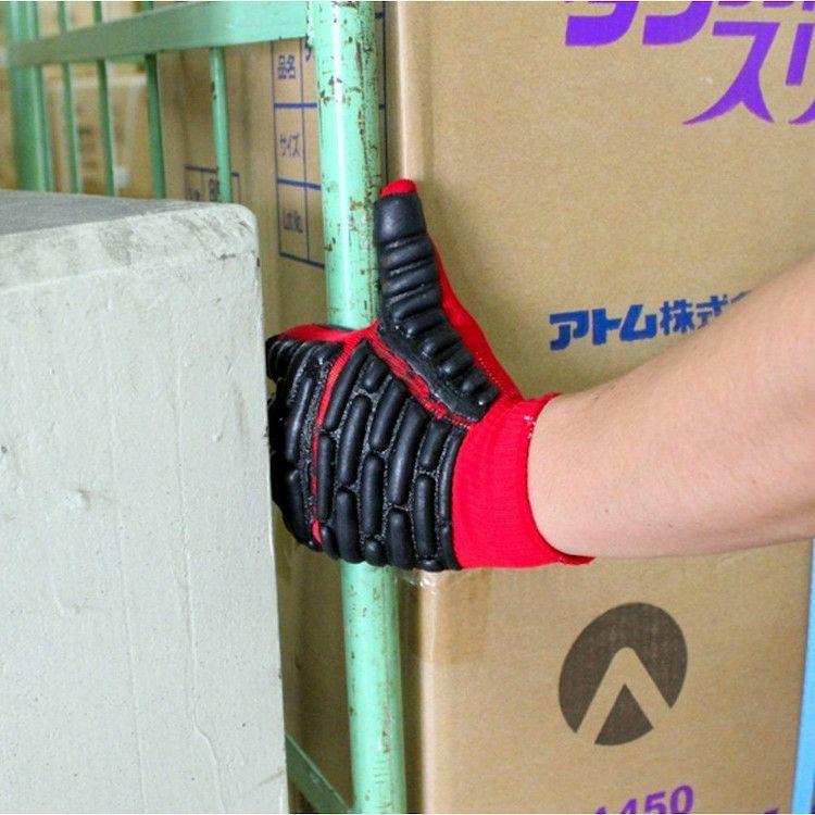 拳護(プロテクト・すべり止め一体型)保護手袋