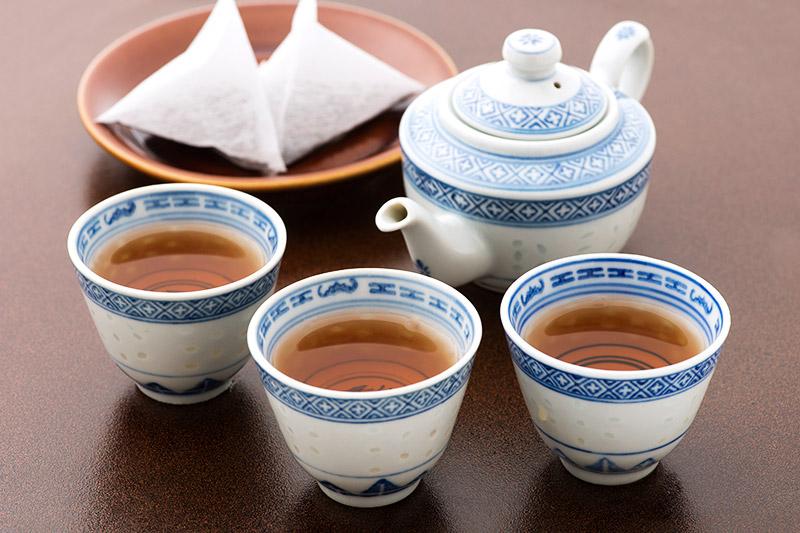 お茶缶(烏龍茶パック入) 龍