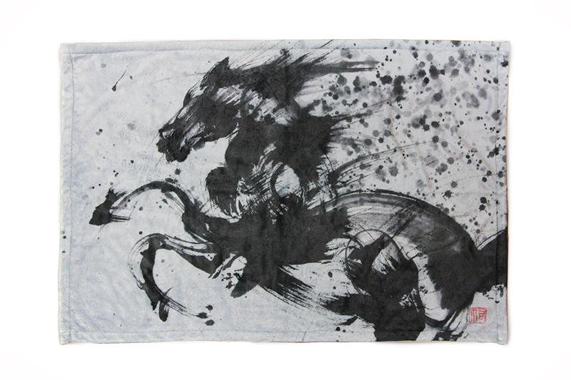 ミニブランケット 馬