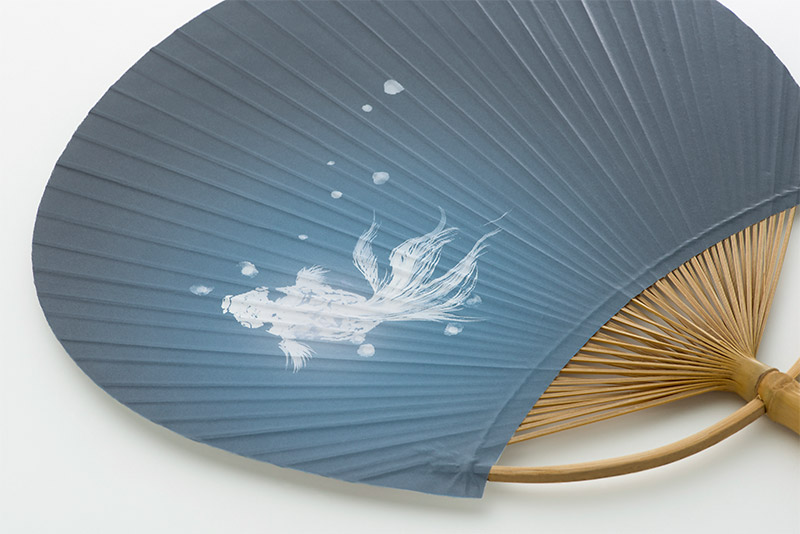うちわ 金魚