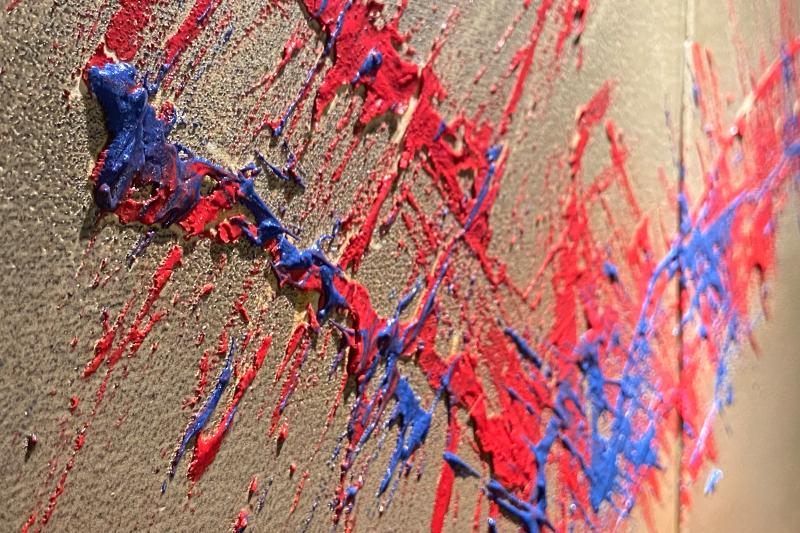 直筆陶墨画「不折之翼(おれずのつばさ)」