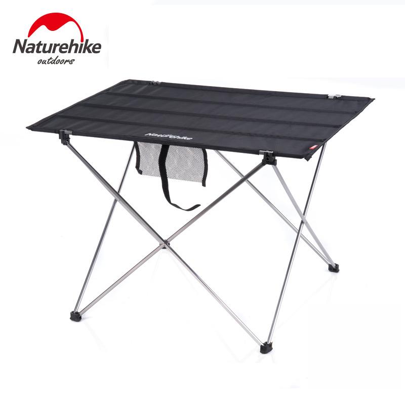 Naturehike アルミ合金テーブルポータブルピクニックテーブル屋外の折りたたみテーブル釣りレジャーテーブルNH15Z012-L
