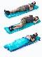 【NatureHike】 TPUエアーマット 最大3cm 【3色】185x60cm  超軽量 スリーピングマット  ハンディポンプ インフレータブル キャンピングマット