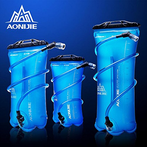 (送料無料)【AONIJIE】1.5L ハイドレーション 水分補給 無臭 ウォーターバッグ ウォーターキャリー 折りたたみ給水袋 サイクリング 登山 ランニング 災害 防災