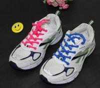 【新タイプ】節付 ほどけないシューレース 75cm クツヒモ 伸縮素材 ゴム靴紐 2本セット【10色】【結ばない】【靴ひも 靴ヒモ】【ジョギング ウォーキング ランニング】