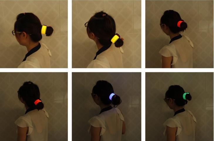 (選べる2個セット)【7色】ワンタッチで装着 LED アーム バンド 3モード セフティバンド  高輝度LEDバンド  LEDライト 自転車 マジックベルトで簡単装着 ペット 愛犬の散歩にもナイトラン