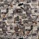 【数量5から】 生地 『綿麻キャンバス アメコミクマ セピア KTS6727-C』 COTTON KOBAYASHI コットンこばやし 小林繊維