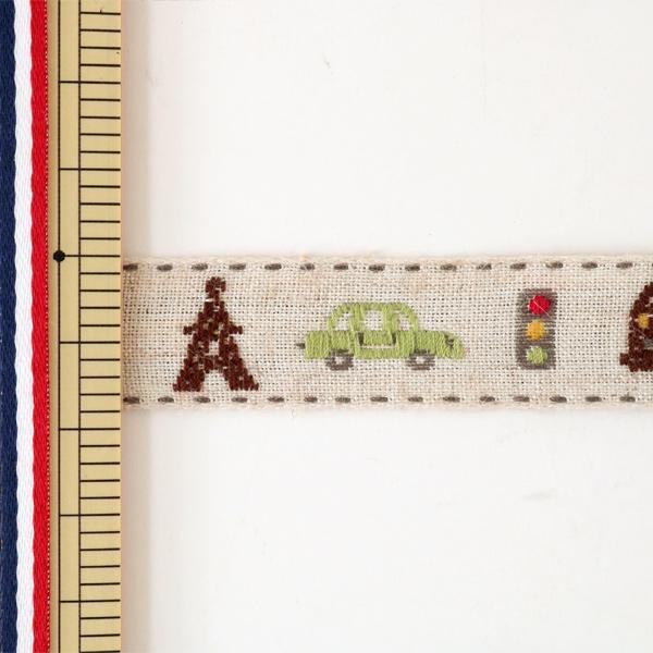【数量5から】手芸テープ 『チロリアンテープ 144-38-002』 DARIN ダリン
