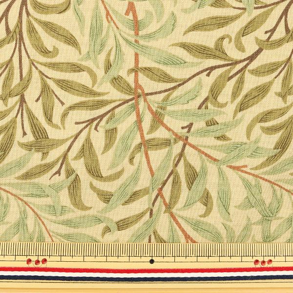 【数量5から】生地 『moda fabrics William Morris ウィリアムモリス willow Bough 8113-21』