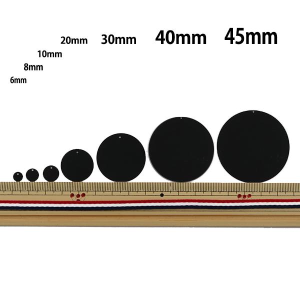 スパンコール 『トップホール 10mm SH 12番色』