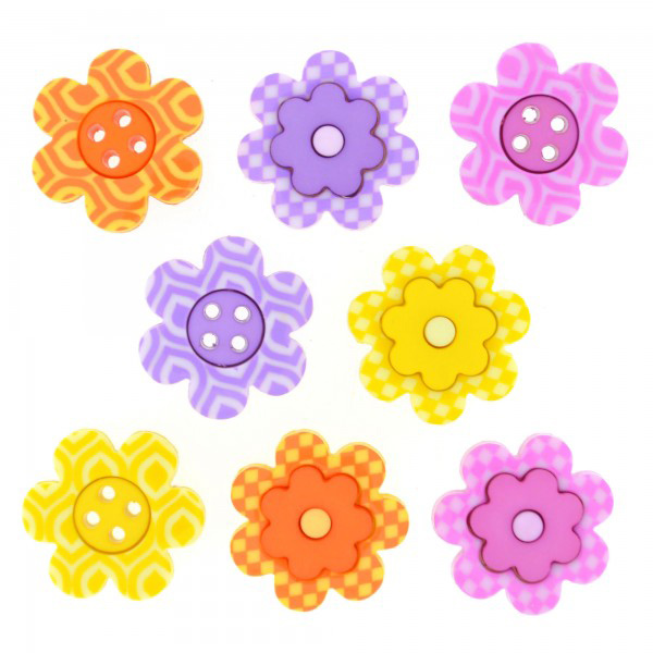 ボタン 『チルドボタン Bright Blossoms』 Dress It Up