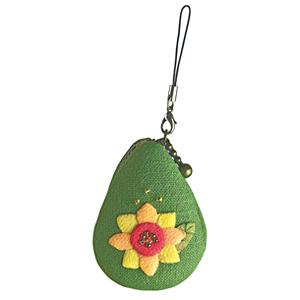 オリムパス 花のしずく マカロンポーチ 8月 ヒマワリ/PA-655 [マカロンケース/キット]