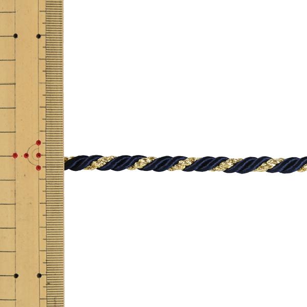 【数量5から】 手芸ひも 『ツイストコード 幅約7mm 107番色』