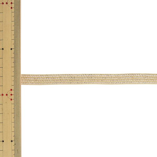 【数量5から】 リボン 『GR・レーシア メタリック 幅約1.2cm 1番色 40992』 TOKYO RIBBON 東京リボン