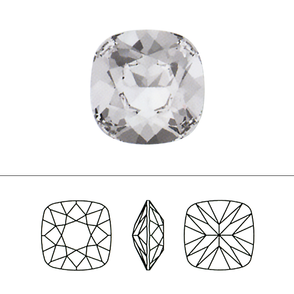 スワロフスキー 『#4470 Cushion Cut Fancy Stone グレージュ 10mm 1粒』 SWAROVSKI スワロフスキー社