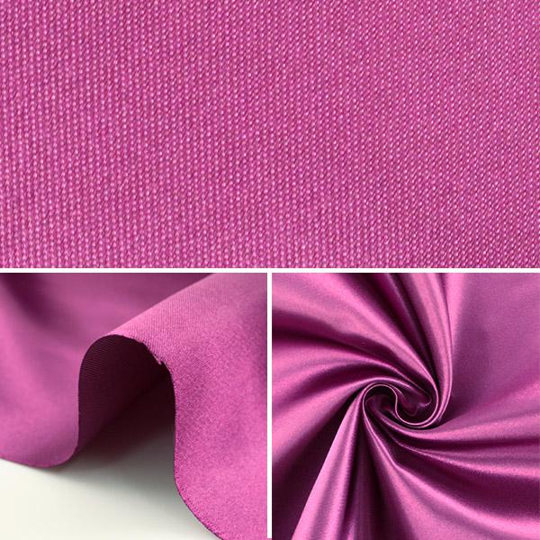 【数量5から】生地 『セラミカサテン 310-48 赤紫』