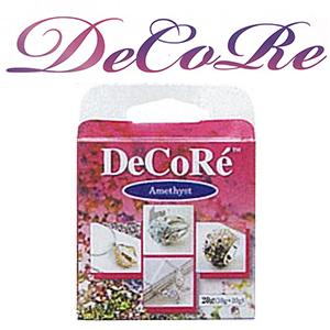 アクセサリー粘土 『DeCoRe (デコレ) デコレーション専用パテ DCR-20 アメジスト』 TOHO BEADS トーホービーズ