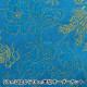 【コスプレ関連最大20%オフ】 【数量5から】 生地 『コスチュームチャイナドレス花と龍の柄 CDC8700-R 71:青×紫糸』
