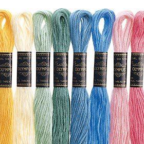 オリムパス 25番刺しゅう糸 801 [刺繍糸/ししゅう糸]