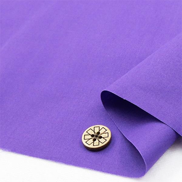 【数量5から】生地 『T/Cブロード無地 YTC45205-52 紫』