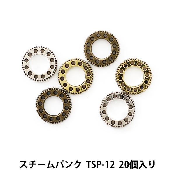 レジン材料 『スチームパンク (金属パーツ) TSP-12 20個入』 寺井