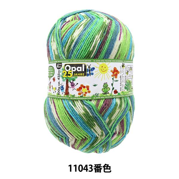 ソックヤーン 毛糸 『Opal 25 Jahre(オパール25周年)11043番色』 Opal オパール