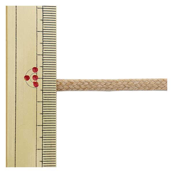 【数量5から】 手芸ブレード 『オーガニックコットン206 幅約5mm 26番色』